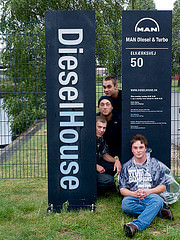 Exchange team 2014 Diesel House